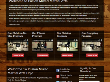 fusionmma_screen_home_page_screen_capture