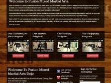 fusionmma_screen_home_page_screen_capture