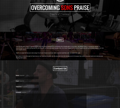 overcomingsonspraise_homepage_screen_capture