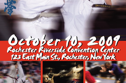 Karate Championship Poster and Tickets